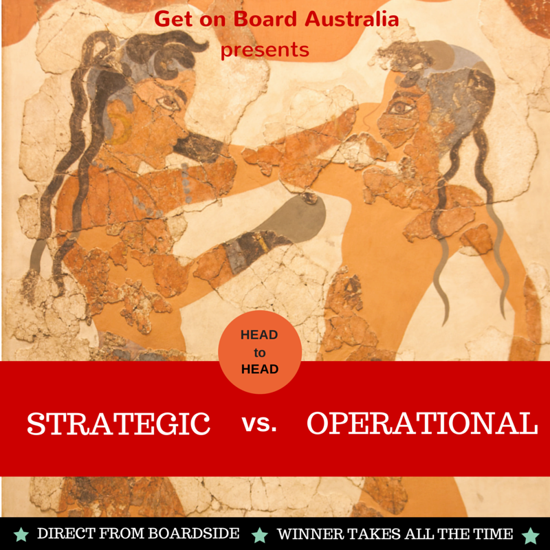 Identifying strategic and operational issues