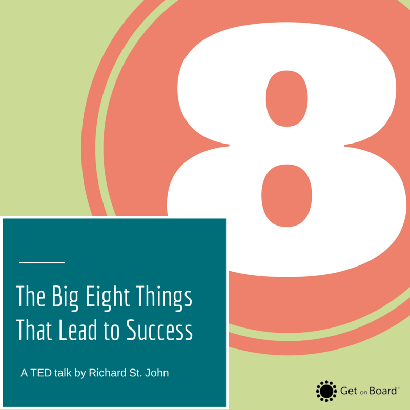 The eight things that you need to do to be successful