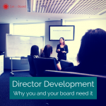 Why directors and boards need to invest into learning and development