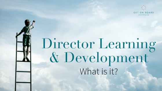 What is board and director education?
