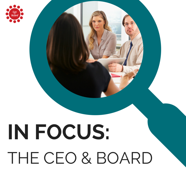 Exploring the roles and relationships between the CEO and board