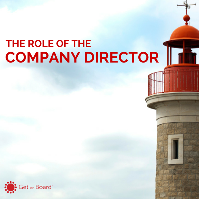 The eight main roles of a company director