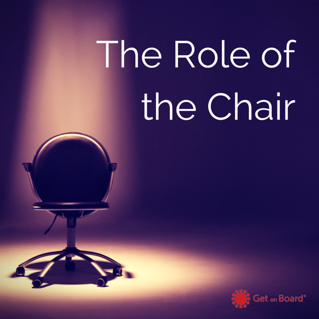 The role of the Chairman of the board of company directors