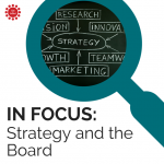 The role of the board in strategic planning