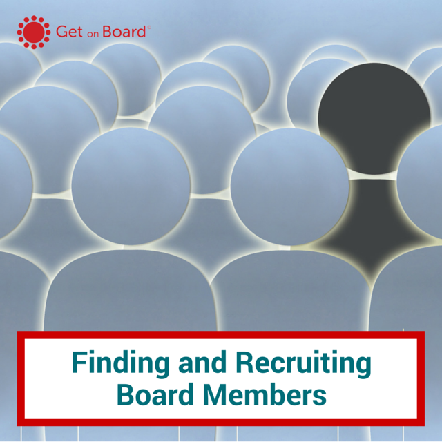 Finding and Recruiting Board Members
