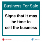Tell-tale signs that the board needs to consider selling the business