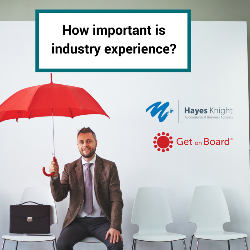 when recruiting a CEO, how important is industry experience?