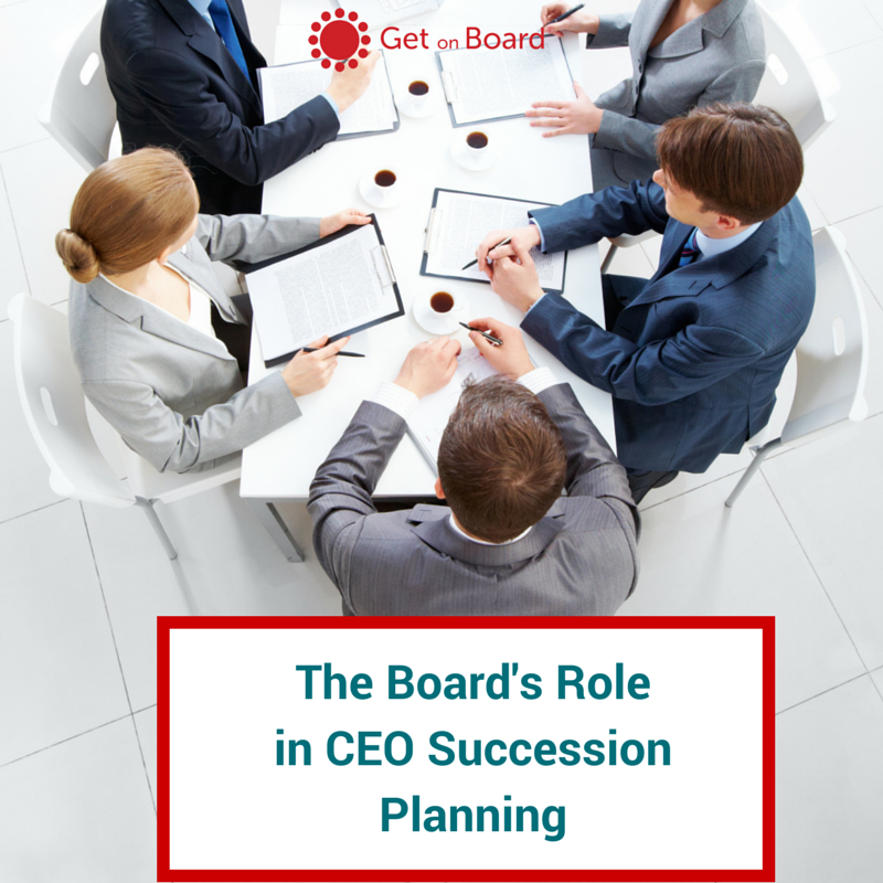 CEO succession planning