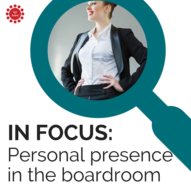 Articles from around the web focused on building your confidence in the boardroom