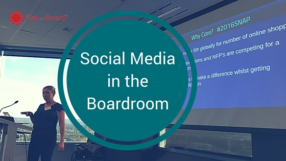 What the board needs to know about social media