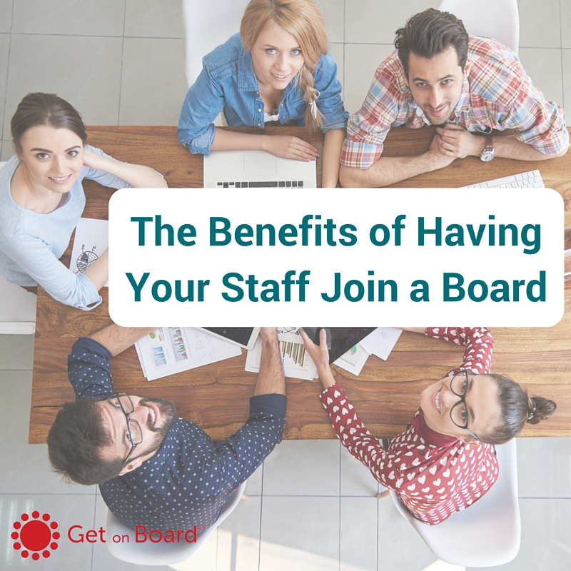 Encouraging your staff to take directorships can return many benefits to your business.