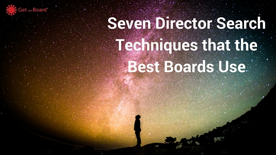 Where to find your next board member