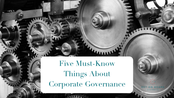 What is corporate governance?
