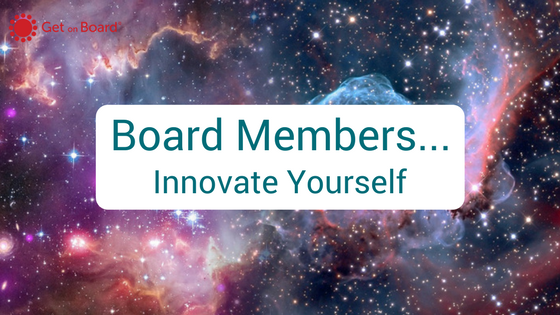 Self innovation for board members
