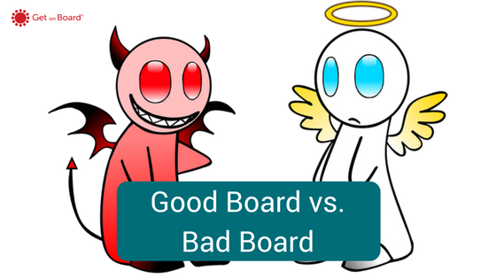 The elements of good and bad boards