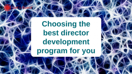 Selecting the best director education