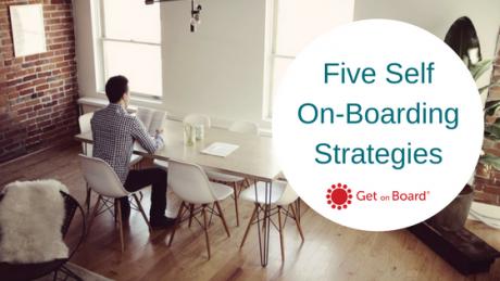 Five Ways to Board Self On-Boarding