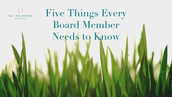 Five ways to be a valued and valuable board member