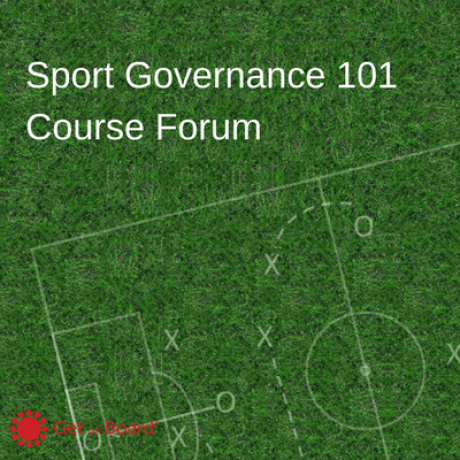 Group logo of Sport Governance 101